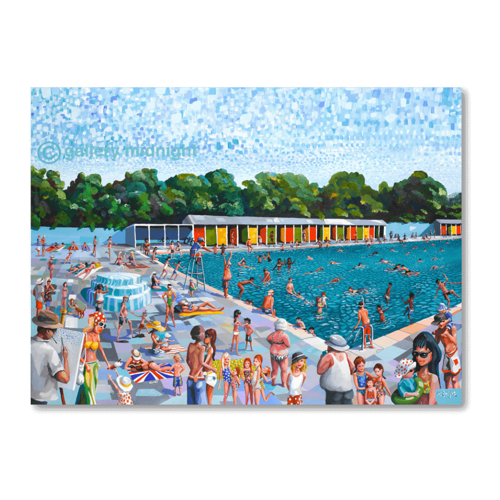 Our Lovely Lido Tooting Bec Gallery Midnight