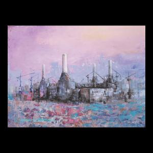 Purple power station